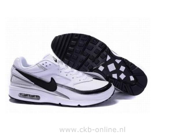 Nike Air Max BW Homme BlancPlatine purNoirBlanc 881981