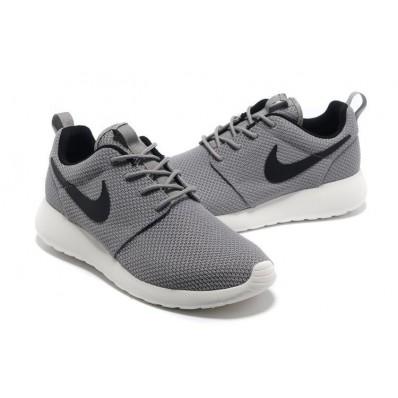 homme nike roshe run yeezy grise noir chaussures de courses