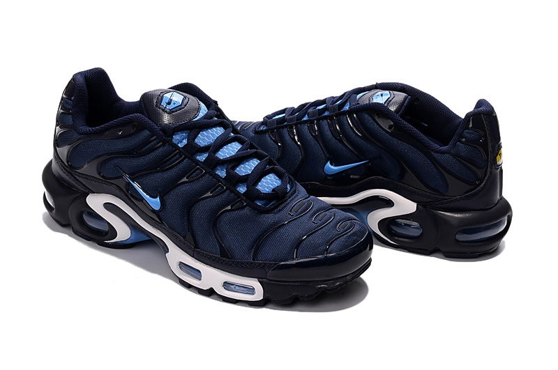 2016 Basket Nike Air Max Tn Tuned Requin Plus Homme Blanc