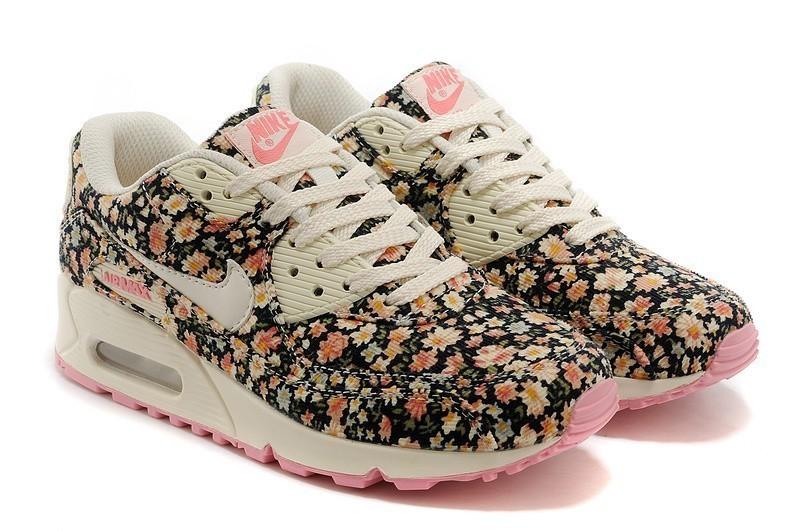 femmes floral nike air max 90 fleur de jasmin,achat vente