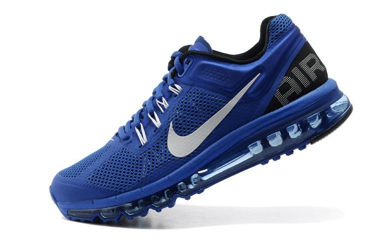 nike air max 2013 hommes chaussures bleu blanc,achat vente
