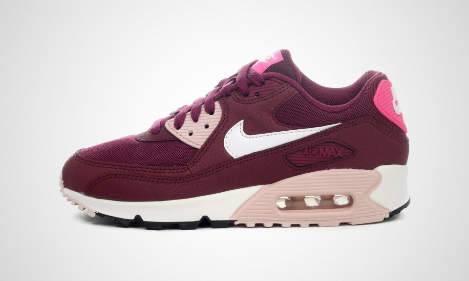 nike air max 90 essential blanche rose