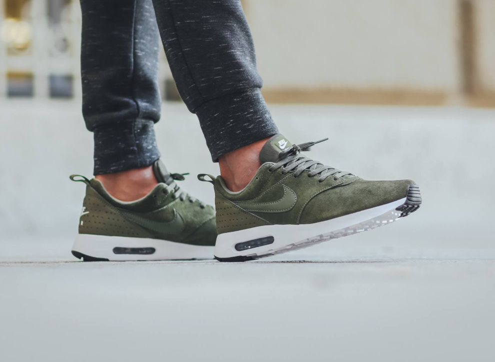 nike air max tavas x leather cargo khaki,achat vente