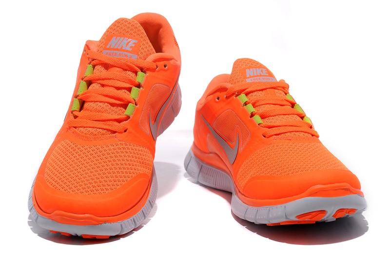 nouveaux styles a98cd 0aca8 50% off nike free run orange femmes 49a8e e8e1e